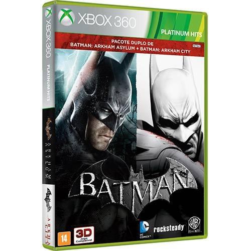 Batman: Arkham Asylum + Arkham City - Xbox 360 Leg.português