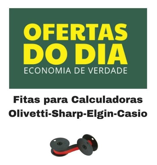 Fita Para Calculadora Elgin-sharp-olivetti ( 05 Unidades )