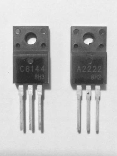 Transistor A2222/ C6144 Reparar Tarjetas Lóg. Epson 3 Pares