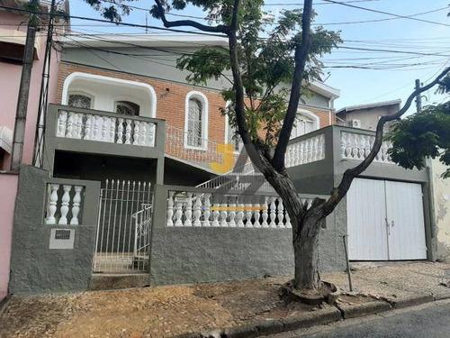 Casa Com 3 Dormitórios À Venda, 163 M² Por R$ 447.000,00 - Vila Santana - Campinas/sp - Ca12652