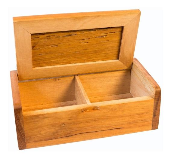 Caja De Te De Madera X2 Peteriby