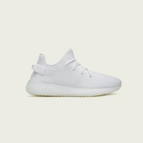 Tenis adidas Yeezy Boost 350 V2 Lançamento Triple White