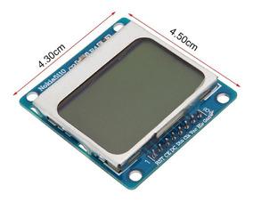 Modulo Display Lcd Nokia 5110 - Display P/ Arduino