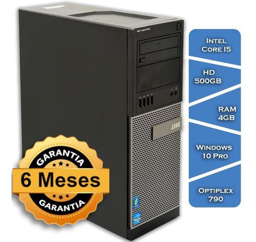 Imagem 1 de 6 de Pc Dell Optiplex 790 Core I5 Hd500 4gb Ram Win10 Pro Mouse