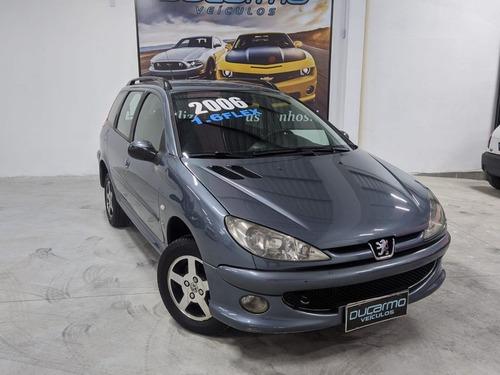 Imagem 1 de 15 de Peugeot 206 Sw 1.6 Feline 2006