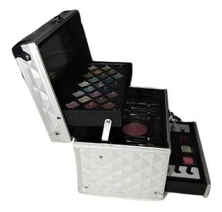 Maletin Valija Set De Maquillaje Completo!!! 42 Piezas!!!!
