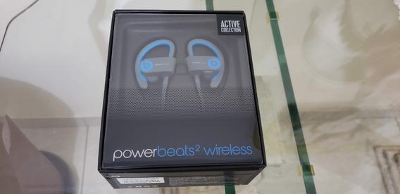 Fone Monster Beats Powerbeats 2.0 Sem Fio Azul
