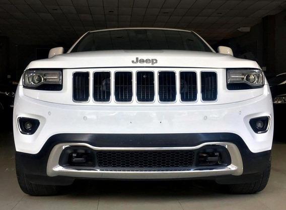 Jeep Grand Cherokee Limited 4x4 3.6 V6. Branco 2015/15