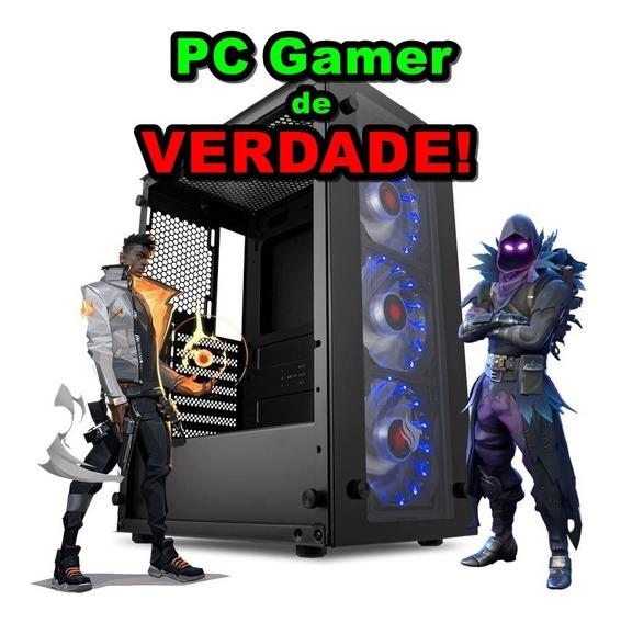 Pc Gamer 9º Geração Intel + Placa De Video 4gb + Ssd + Brind