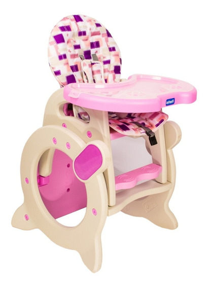 Silla De Comer Bebe Infanti Multifuncional Escritorio Cc008
