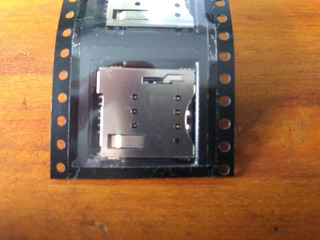 Leitor Conector Slot Chip Sim Card 2g,3g,4g P/ Amplimax