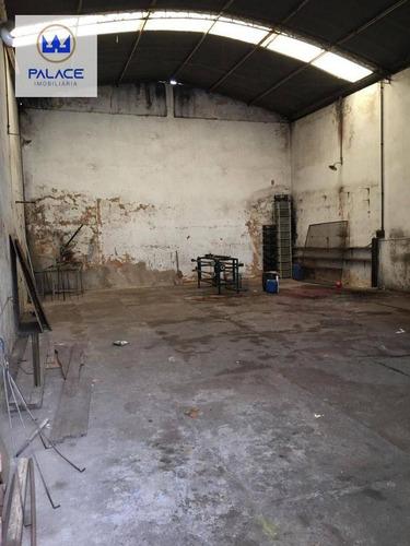 Imagem 1 de 5 de Salão Para Alugar, 172 M² Por R$ 1.150/mês - Jardim Esplanada - Piracicaba/sp - Sl0188