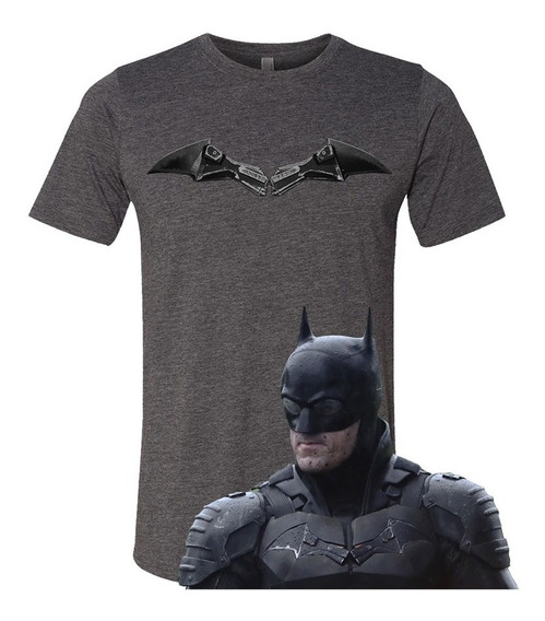 Playera Batman Robert Pattinson Justice League No Superman