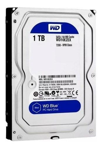 Disco Duro Western Digital Blue 3.5 1tb Sata 3 - 7200 Rpm