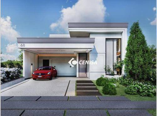 Imagem 1 de 8 de Casa Com 3 Dormitórios À Venda, 188 M² - Condomínio Piemonte - Indaiatuba/sp - Ca2527