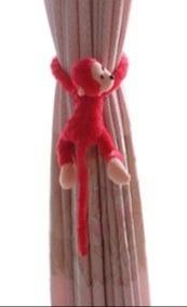Imagem 1 de 3 de Macaco Prendedor De Cortina Para Decoração, Quarto,infantil