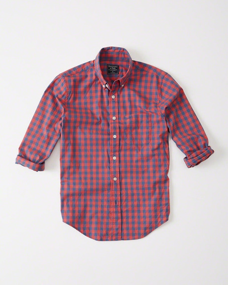 Camisa Abercrombie & Fitch A Cuadros