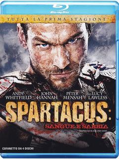 Blu Ray Spartacus - Sangue E Areia - 4 Discos, Leg. Lacrado