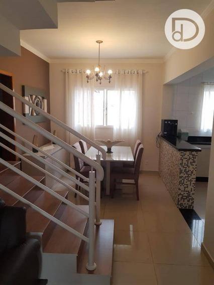 Casa Com 3 Dormitórios À Venda, 138 M² Por R$ 562.000 - Parque Jambeiro - Campinas/sp - Ca3772