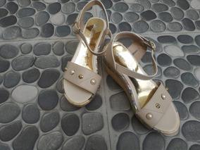 Sandalias Cuña Para Dama