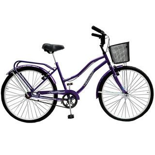 Bicicleta Playera Dama Full La Mejor Rdo 26 Ushuaia
