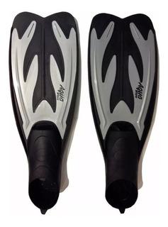 Patas De Rana Natacion Aquawave Talles 42-45 Buceo Snorkel