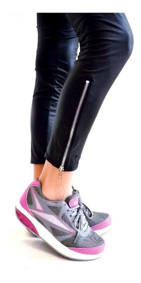 Zapatillas Tonificadoras Dama Mujer Step Originales Adelgaza Caminando Hot Rimini