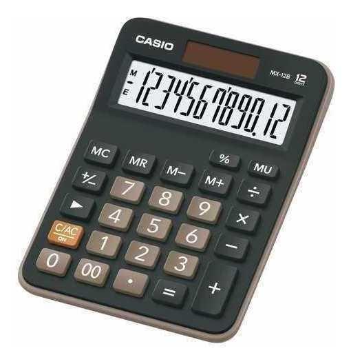 Calculadora De Mesa Casio 12 Digitos