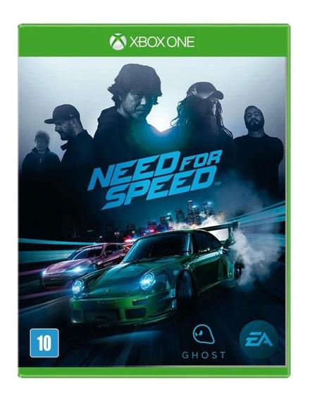 Need For Speed Xbox One Lacrado Mídia Física Português