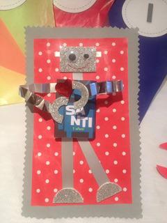 Invitación O Souvenir Robot