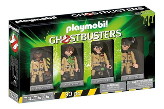 Playmobil 70175 Cazafantasmas Set 4 Figuras Ghostbusters