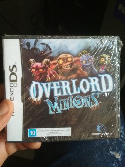 Jogo Overlord Minions - Nintendo Ds - Lacrado