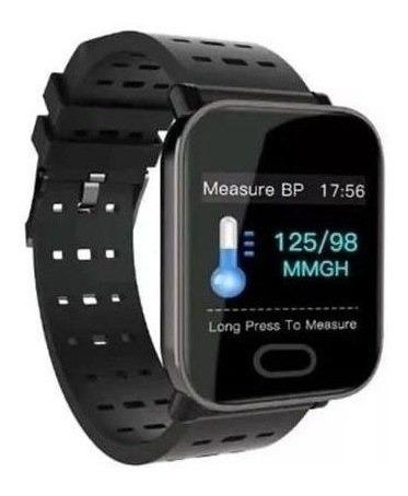 Relógio Smart Bracelet A6 Monitor Cardíaco Pressão Arterial
