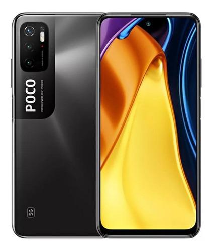 Imagem 1 de 2 de Xiaomi Pocophone Poco M3 Pro 5G Dual SIM 128 GB power black 6 GB RAM