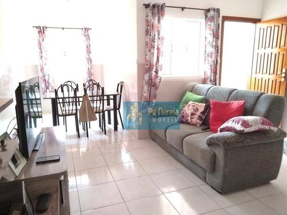 Sobrado Com 2 Dormitórios À Venda Por R$ 270.000 - Tude Bastos (sítio Do Campo) - Praia Grande/sp - So0012