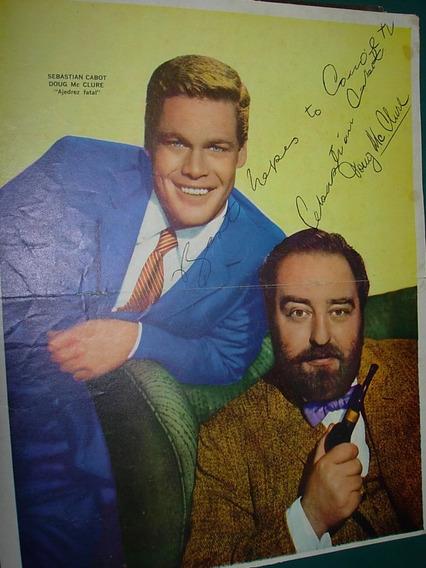 Ajedrez Fatal Cabot Mc Clure Poster Original Guia Television