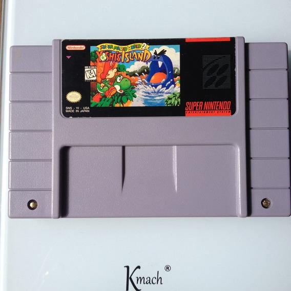 Cartucho Yoshis Island Original - Super Nintendo - Snes