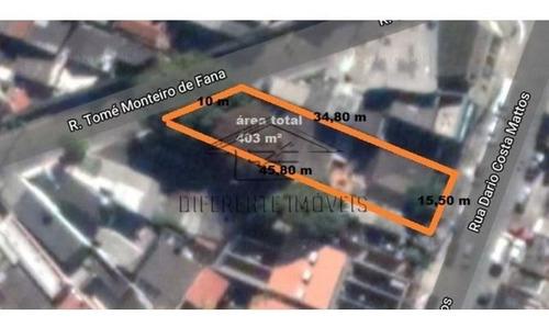 Imagem 1 de 1 de Terreno Com 403m²  - Parque Boturussu