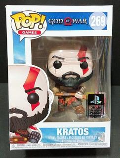Figura Funko Pop Games - Kratos - Nº 269 - Original