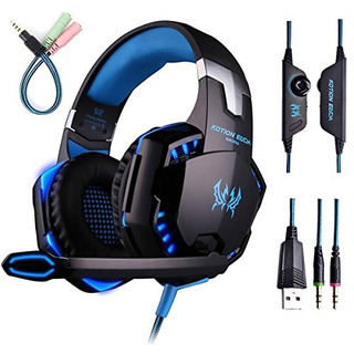 Gaming Headset With Mic Para Pc, Ps4, Xbox One