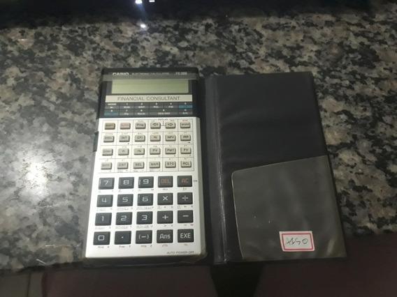 Calculadora Casio Financial Consultant Fc-200 Funcionando