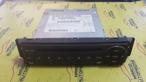 Dvd Player Chrysler Town Country 2008 P05064063ae
