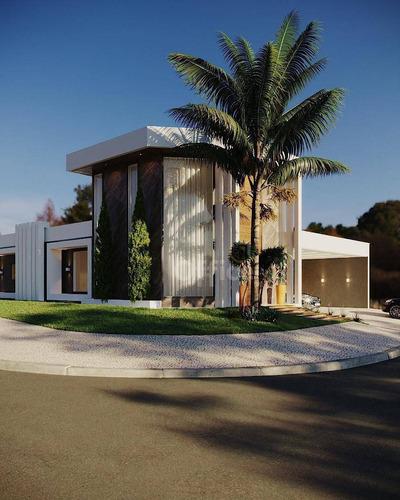 Casa À Venda, 300 M² Por R$ 1.500.000,00 - Condomínio Residencial Grand Trianon - Anápolis/go - Ca0661