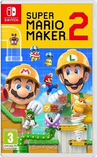 Super Mario Maker 2 Nintendo Switch Fisico Sellado Original