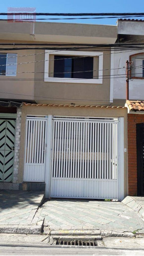 Sobrado Com 4 Dormitórios À Venda, 152 M² Por R$ 530.000,00 - Vila Baeta Neves - São Bernardo Do Campo/sp - So0837