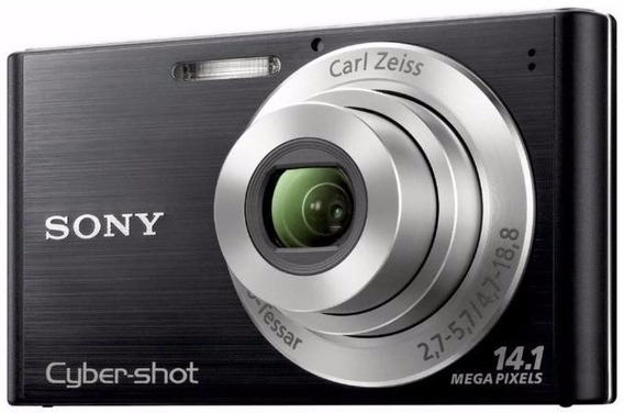Câmera Digital Sony Dsc W320 - 14.1 Mega Pixels - Preta
