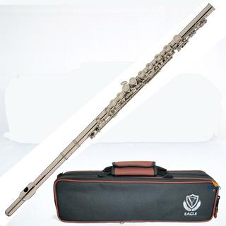 Flauta Sopro Eagle Fl03n Niquelada Transversal Dó