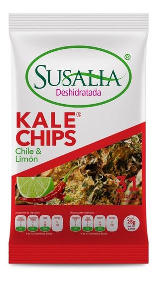 Kale Chile & Limón 28g. Caja 12 Pzs.