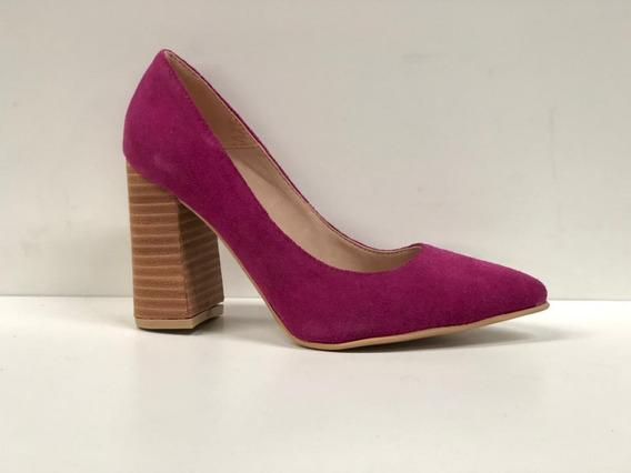 Stilettos Mujer Luis Xv Linea Folia Gamuzados Calzadosoher