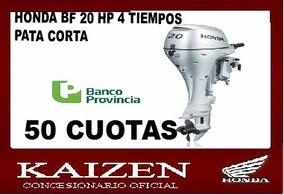 Honda Fuera Borda 20 Hp 4 Tiempos Pata Cort